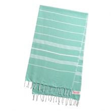 Hammam Bath Beach Fouta Towel Green Large (170 cm x 100 cm / 77'' x 39.3'')